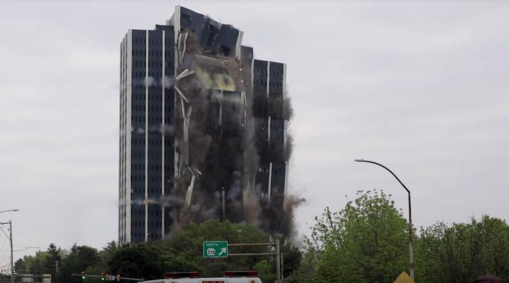 Bethlehem Steel building demolished
