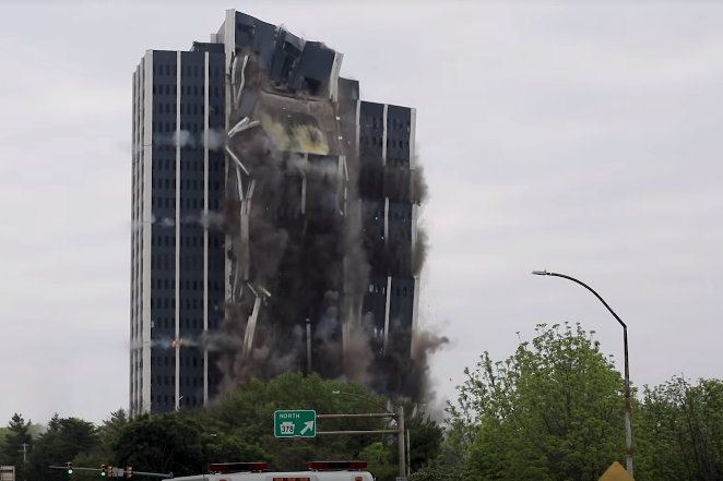 Martin Towers Demolition