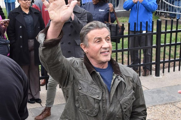 sylvester stallone going Sylvester Stallone reveals natural gray hair sharing 'Keep ...