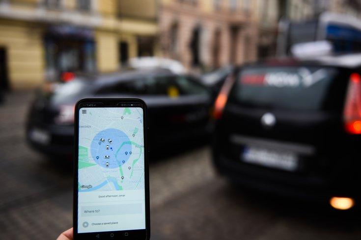 Uber rides Philadelphia