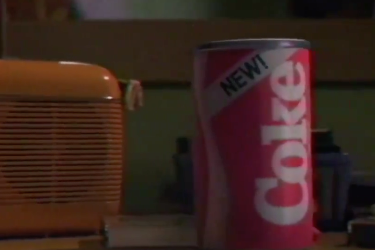 New Coke 'Stranger Things'