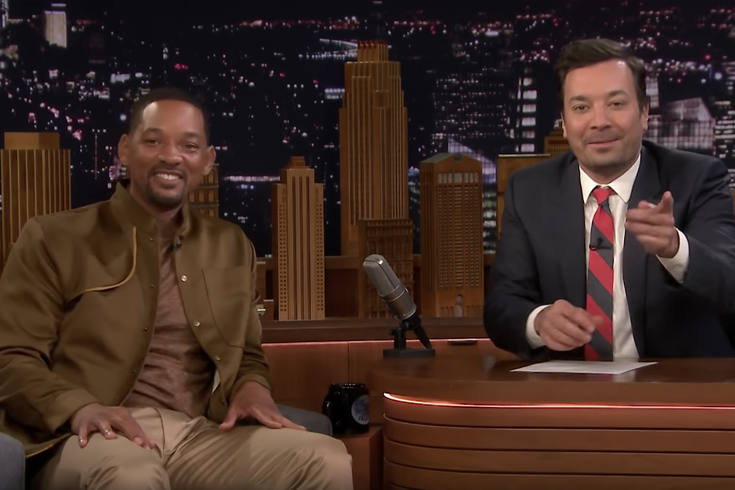 Will Smith with Jimmy Fallon