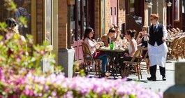 Outdoor dining Pennsylvania