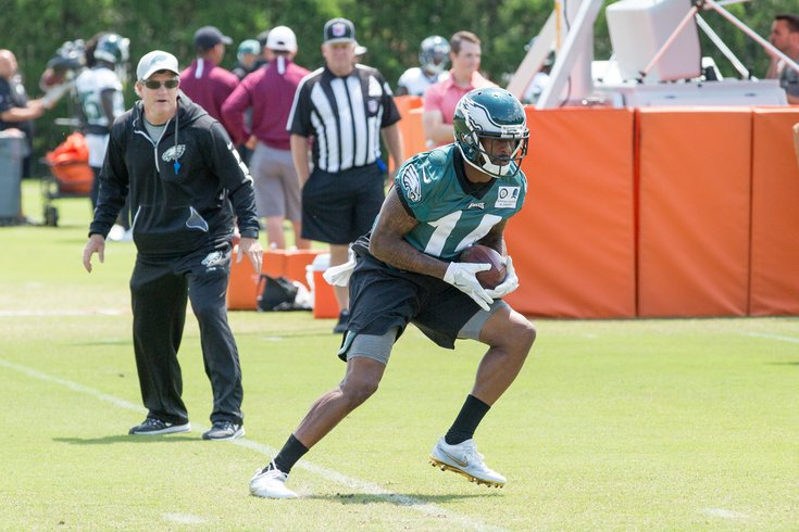 Carroll - Eagles Stock Mike Wallace