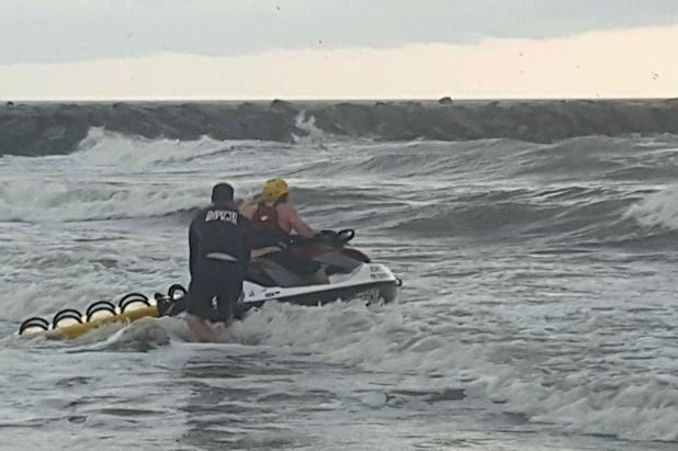 AC drowning rescue
