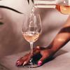 rose wine tasting at Tinto