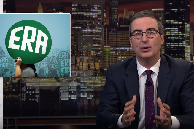 John Oliver Equal Rights Amendment