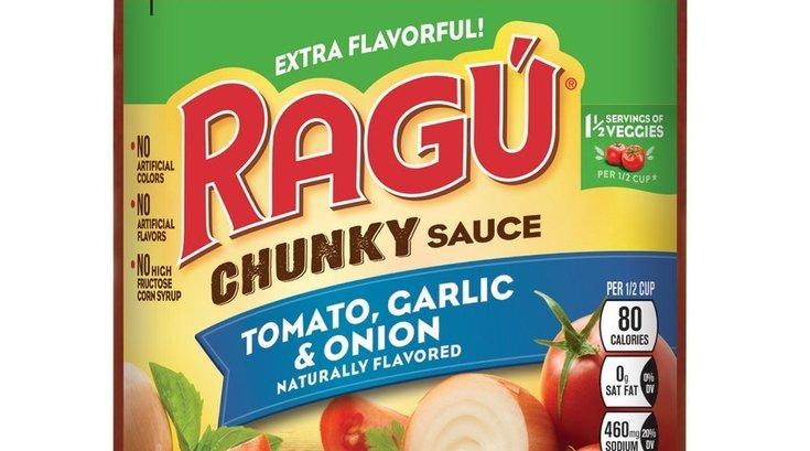 Ragu pasta sauce recall