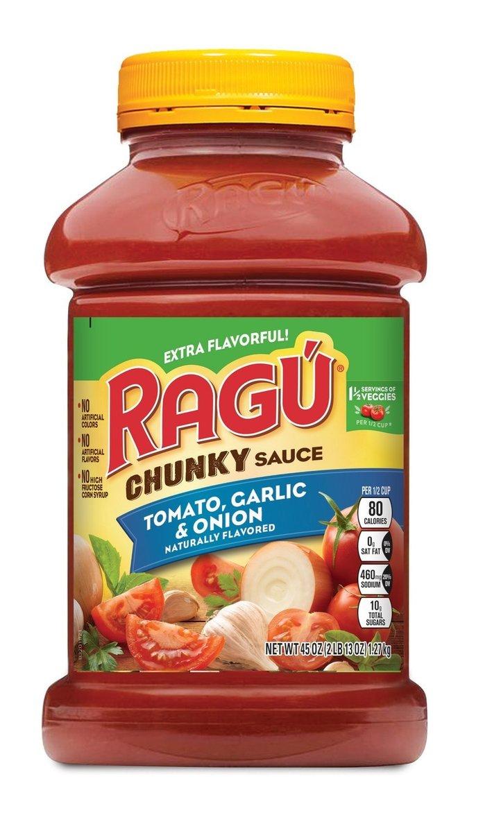 Ragu pasta sauces recalled, may contain