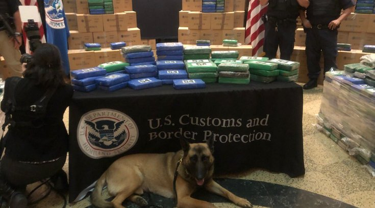 Port of Philadelphia cocaine bust