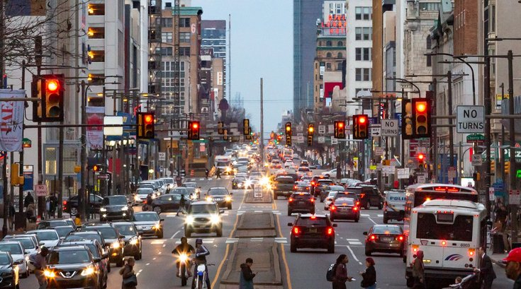 Traffic congestion Center City
