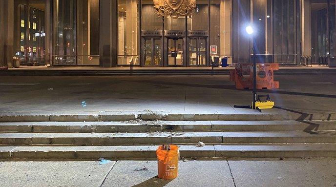 Frank Rizzo statue removed
