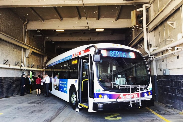 SEPTA releases 25 electric buses