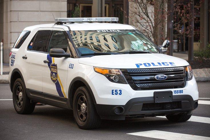 Philadelphia police officer run over