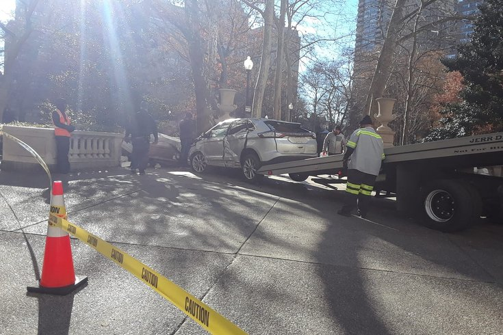 Rittenhouse fake crash
