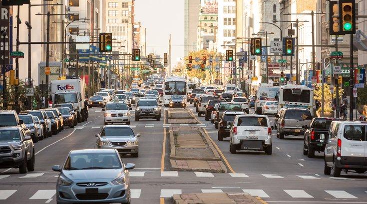 Philadelphia stressful city