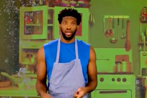 Joel Embiid Shirley Temple Making Show