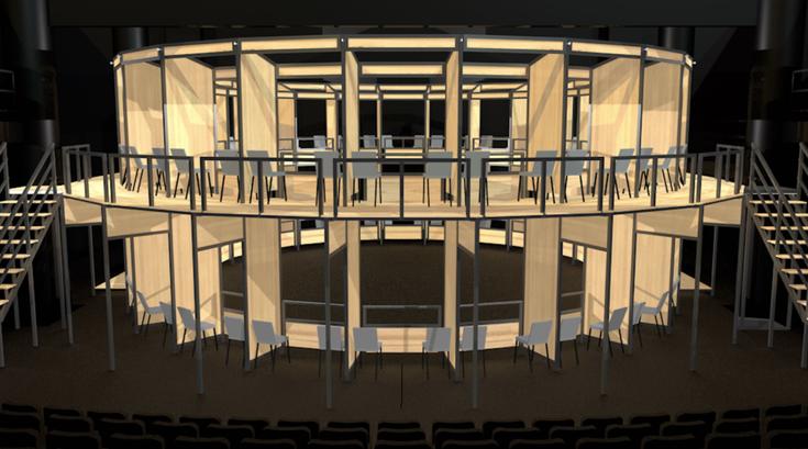 Wilma Theater Globe