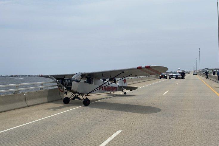 Ocean City plane landing