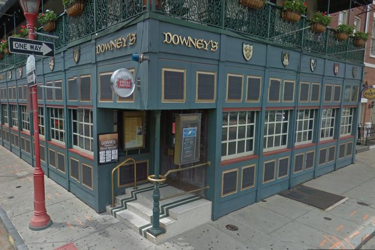 Downey's South Street demolish