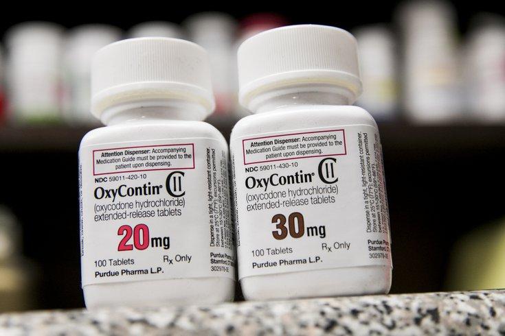 OxyContin Settlement PA NJ