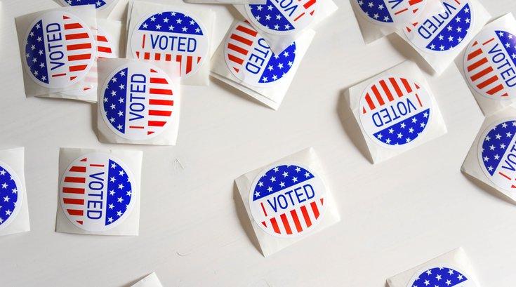 Voting ballots Pennsylvania