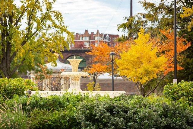 Urban parks elevate mood
