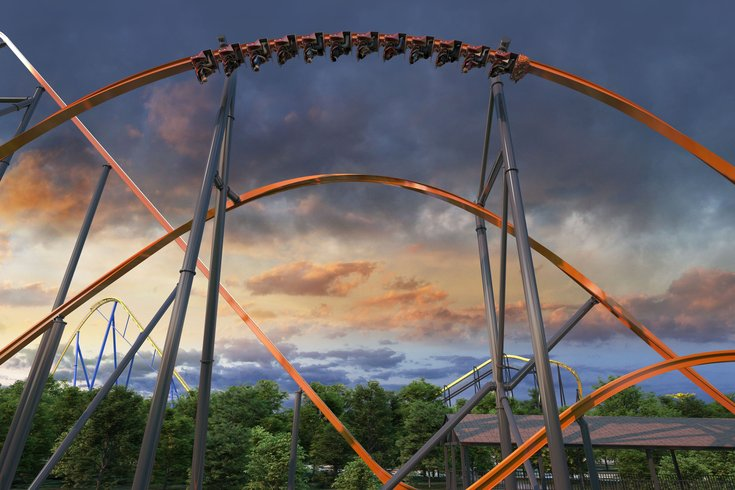 Six Flags Pine Barrens Jersey Devil coaster
