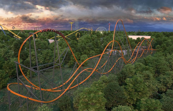 Six Flags Jersey Devil Coaster