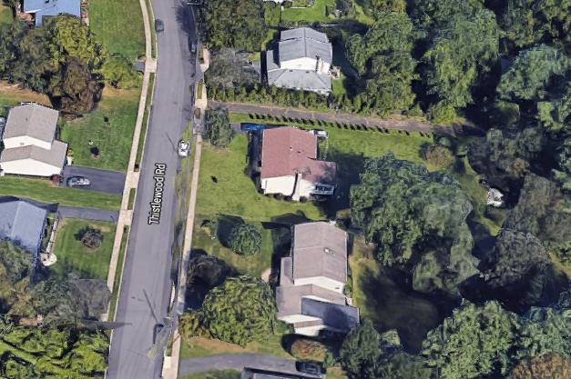 Plane crash backyard Willow Grove