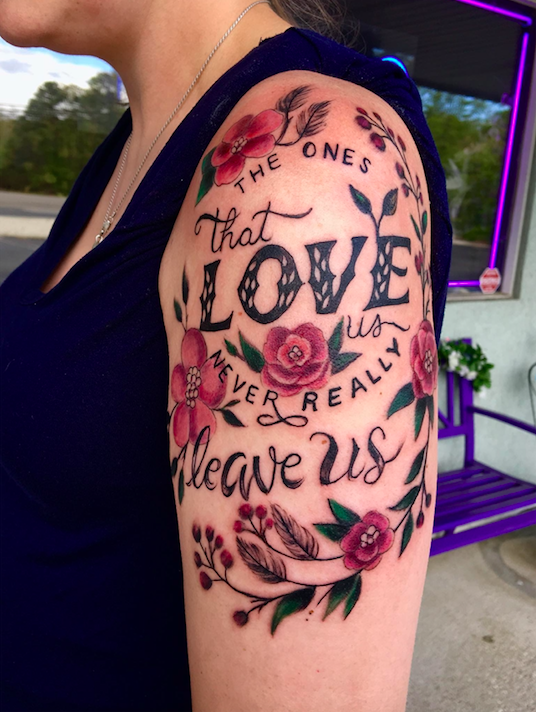 52f075bcd Ashes to ink: people are getting their dead loved ones tattooed on ...