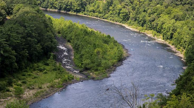 Swimming Delaware Water Gap