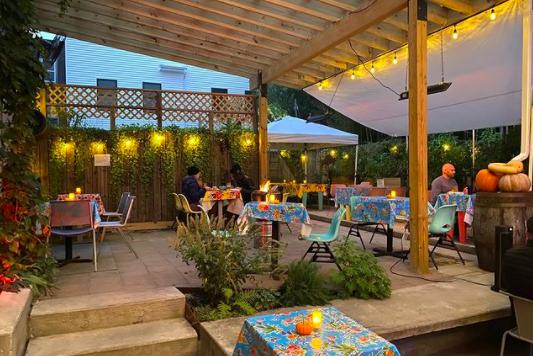 Martha Kensington patio