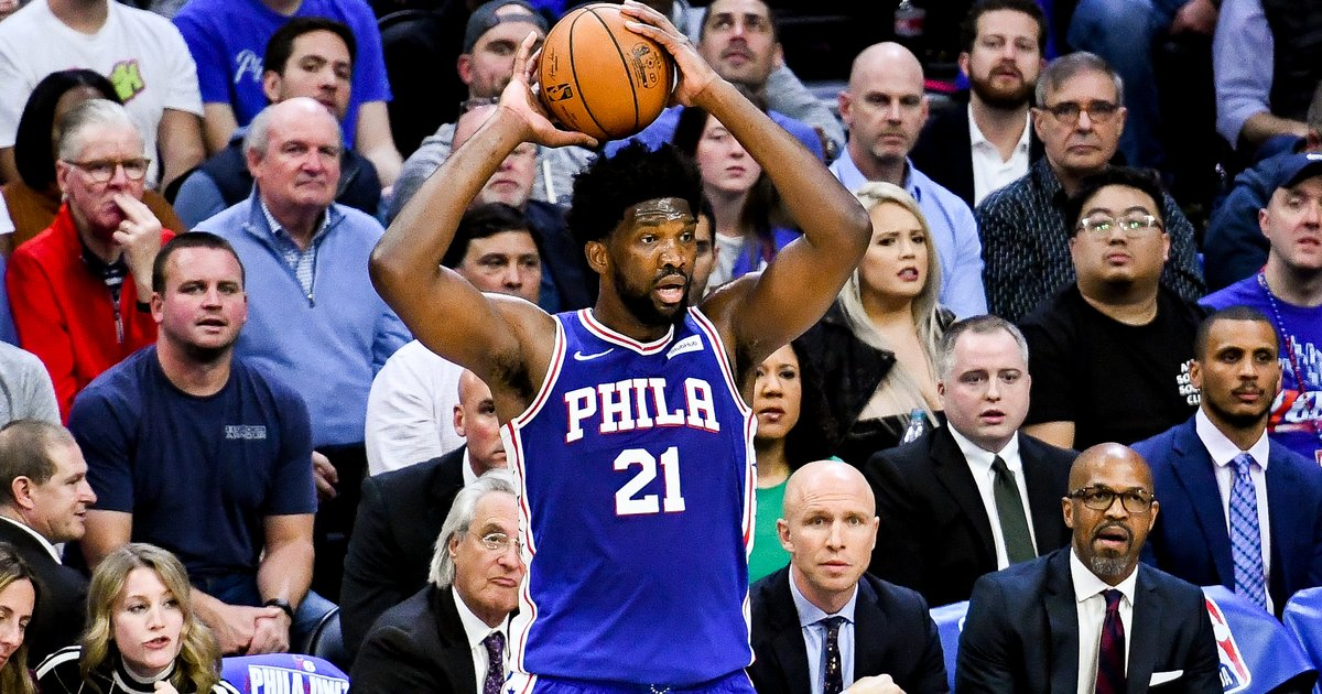 Sixers' Joel Embiid will return to play vs. Golden State Warriors