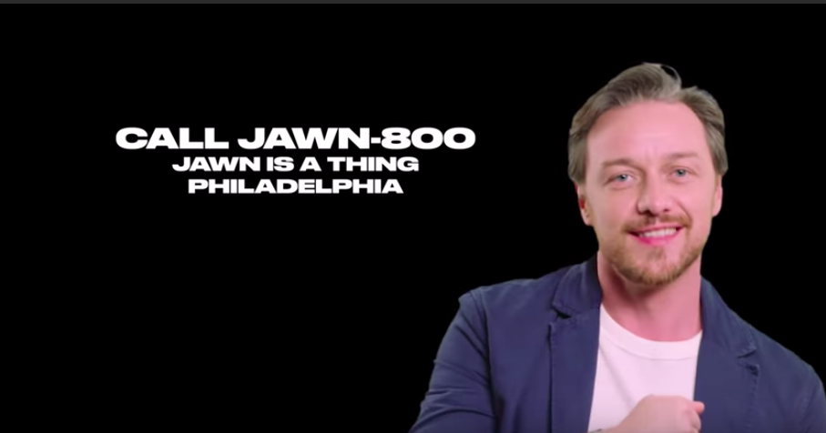James McAvoy defends Philly slang term 'jawn' in interview with Jessica Chastain