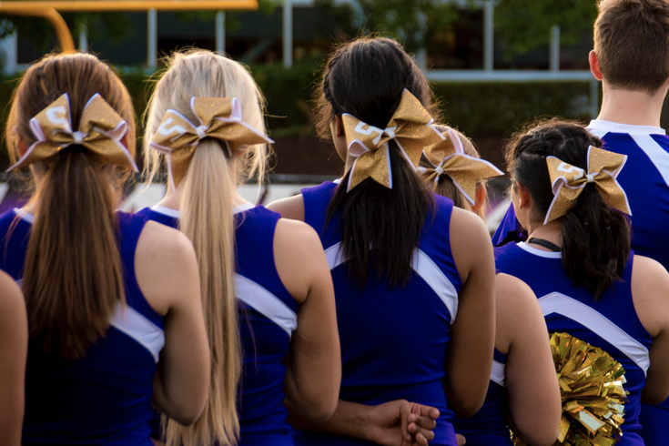 cheerleaders covid