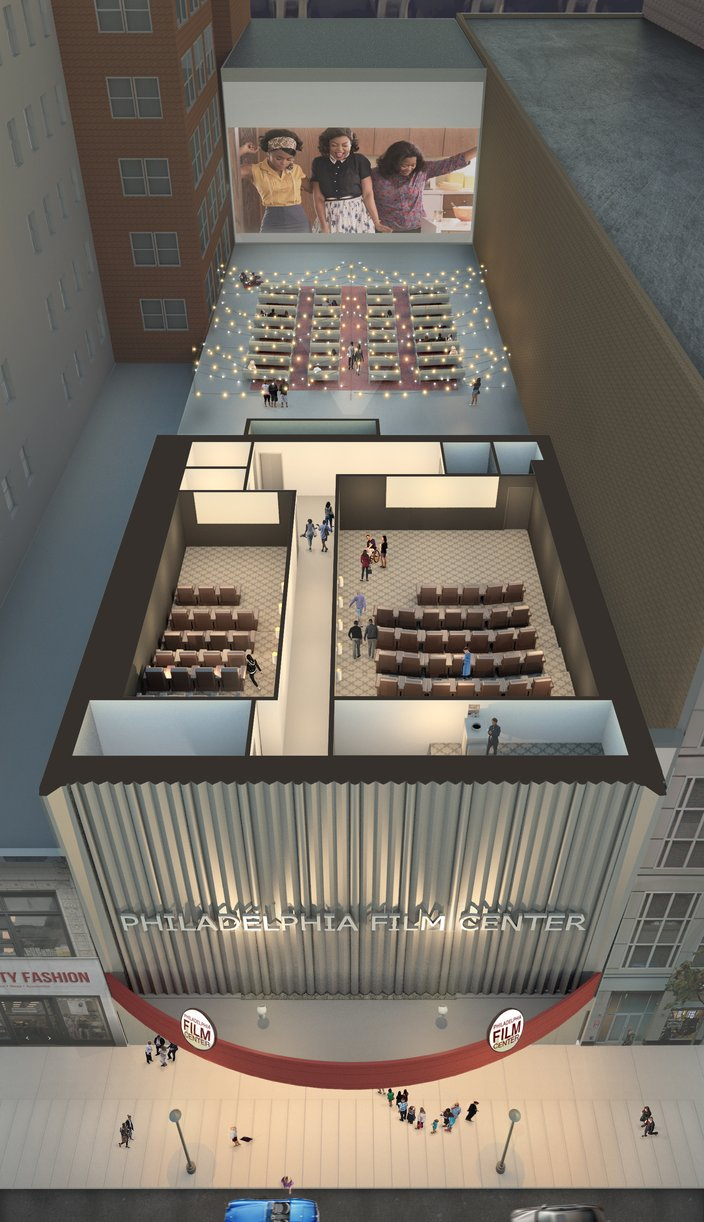 Philadelphia Film Center aerial