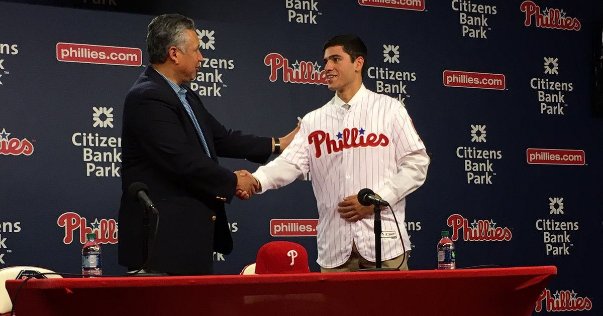 Phillies top pick Adam Haseley earns second promotion in six weeks