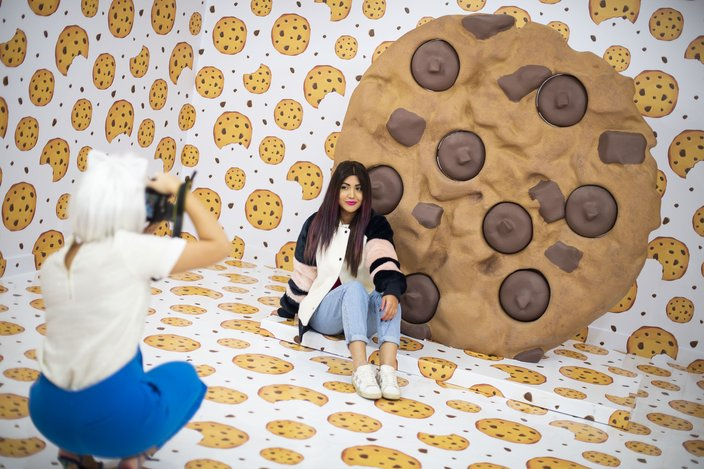 Limited - Happy Place Photo Cookie