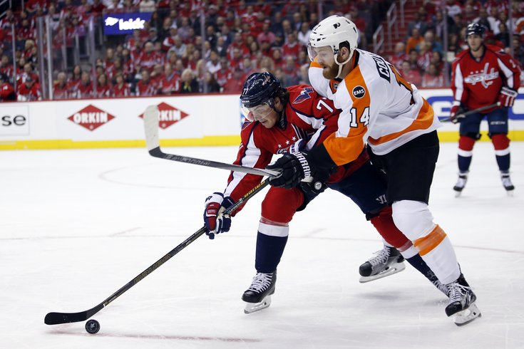 Flyers lose game to Caps a7c117b8f1e