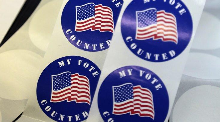 Primary stickers Pennsylvania