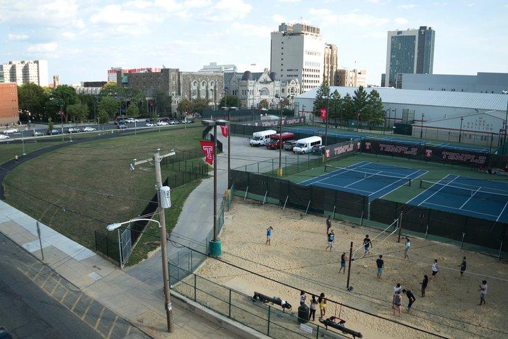 Temple Stadium Site