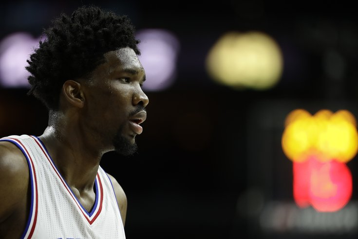 Joel Embiid needs help hooking up with his 'famous' crush