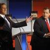 Christie Santorum Debate