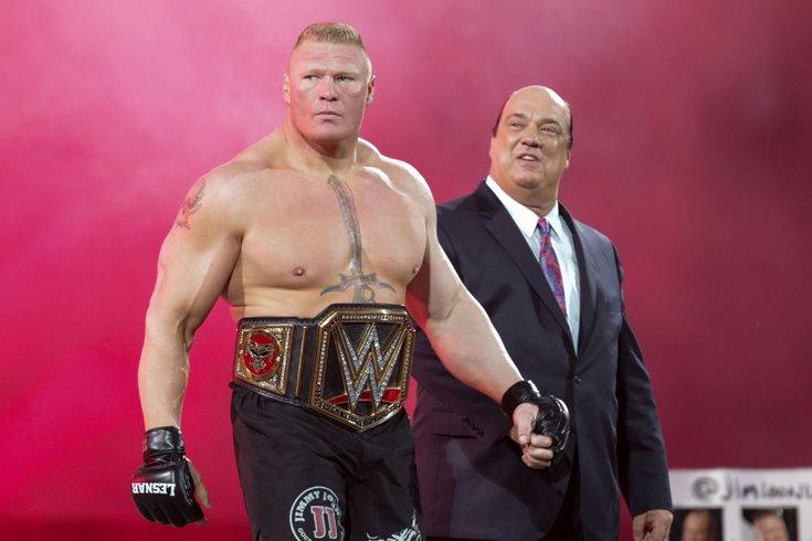 033115 Brocklesnar AP Don Feria Images For WWE Brock Lesnar