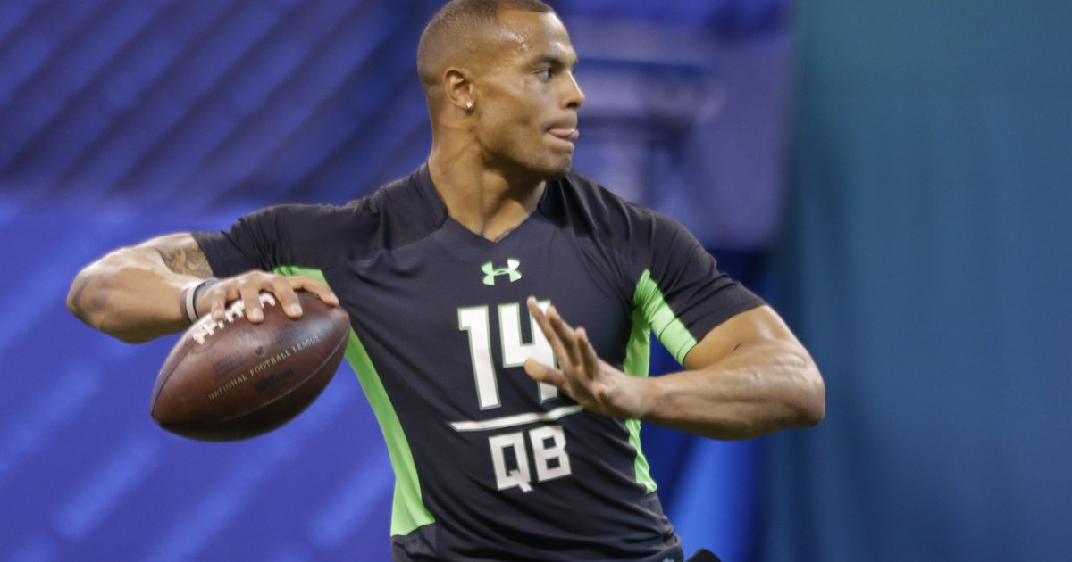 2e7a8987be3 Potential Eagles quarterback draft target Dak Prescott arrested |  PhillyVoice