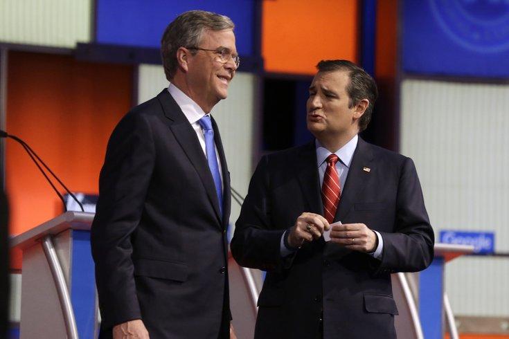 Jeb Bush & Ted Cruz