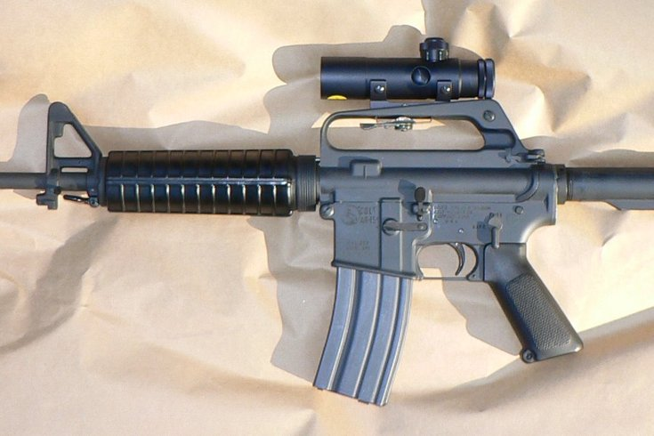 AR-15 Wikimedia Commons