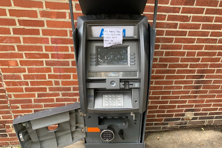 Philly ATM Explosions
