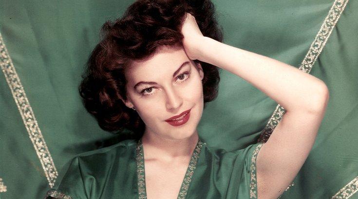 Limited - Ava Gardner in Green Dress